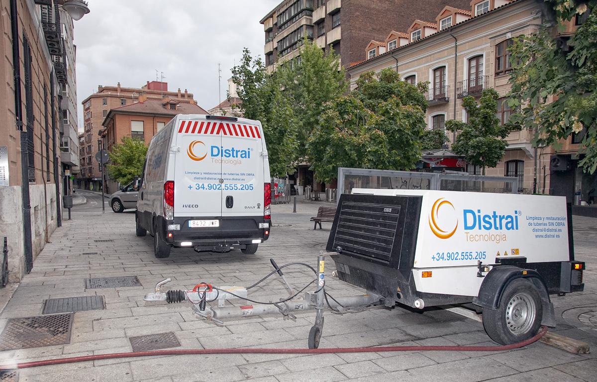 reparaciones tuberías manga Barcelona encamisado tuberías