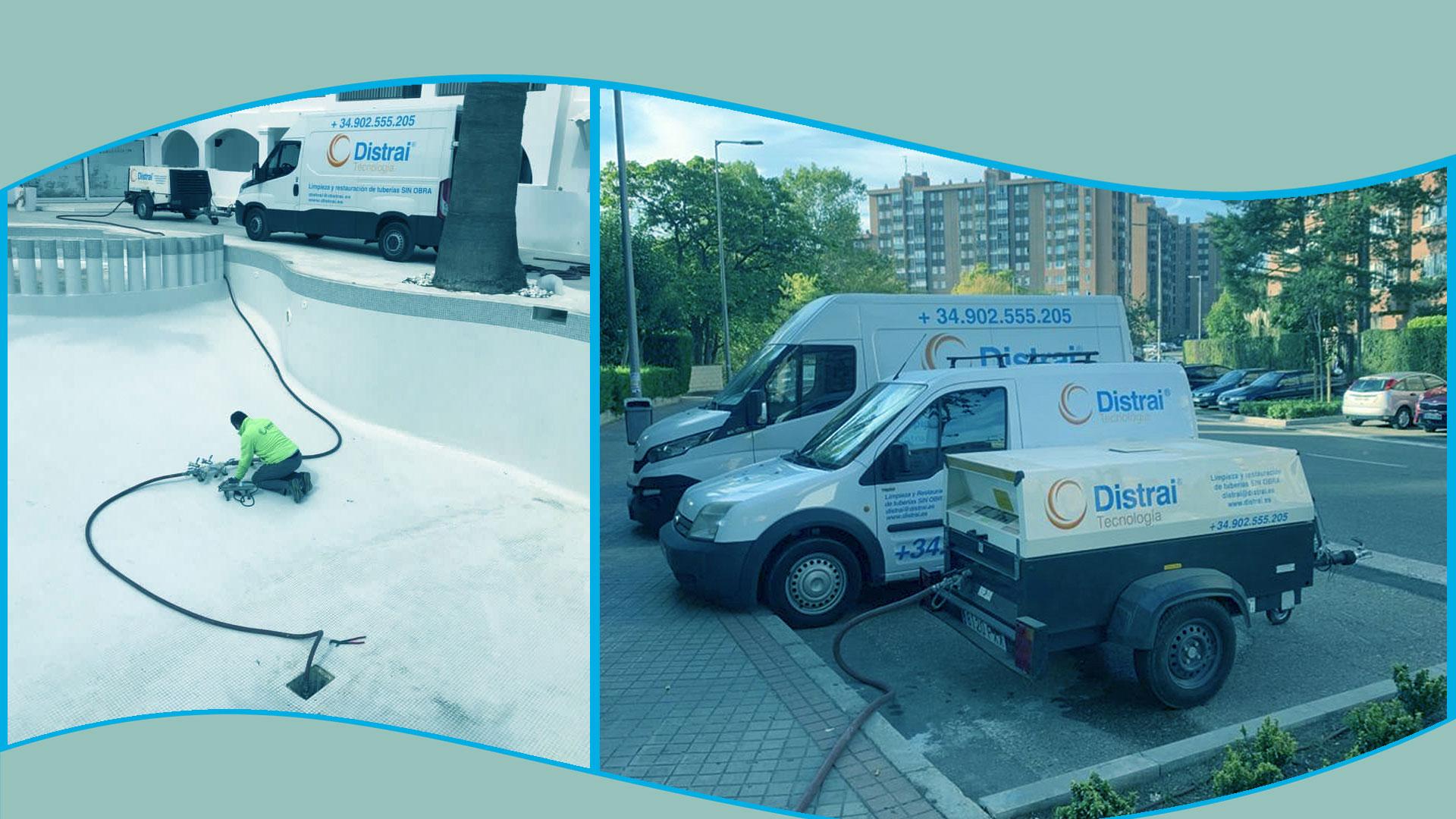 localización fugas agua cámara Barcelona